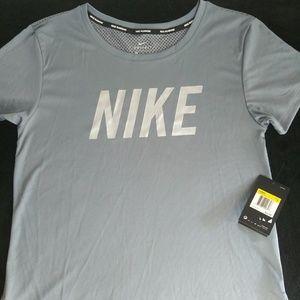 Nike Miler Running Shirt. New. Sizes: XS, S & L